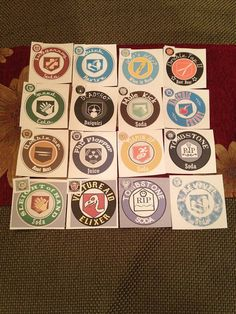 32 Call of Duty Perk-A-Cola Stickers/Labels by ZombiesPerkDrinks