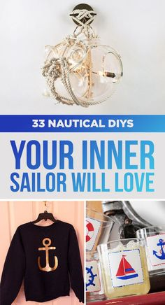 DIY projects with a nautical theme for summer decor