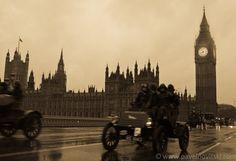 London to Brighton Veteran Car Run,  Westminister Bridge, London  04 Nov 2012