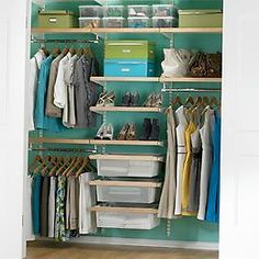 I want to do this to our closets!