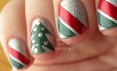 the nail polish challenge: Christmas Manicure