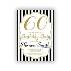 Items similar to Gold Happy Birthday Invitations Cards 5 x 7 inch Milestone birthday Eat drink be thirty Cheers to 30 on Etsy Invitation Cards, Invitations, Happy 50th Birthday, Diy Banner, Year Quotes, Milestone Birthdays, You Are Invited, Rsvp, Handmade Gifts