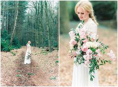 ethereal woodlands bridal