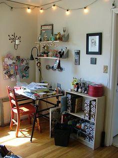 love this corner studio