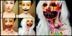 Beware: this girl's makeup transformations are horrifying! Do not try #6 at home...