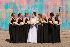 The Illuminated Mural | Detroit, MI | Detroit Wedding Photographer | One Perfect Sunday Artistry