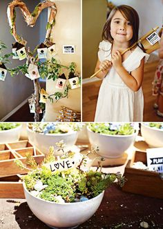 {Super Creative!} Nature-Inspired Birthday Party