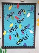Bulletin Board   Light of the World