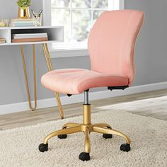 Home In 2020 Pink Desk Chair Best Office Chair Cute Desk Chair