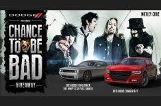 Dodge and Motley Crue Team Up for New Promotion