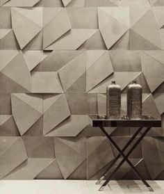 Wall tiles with a difference! :) textured wall tiles by Castelatto Wall Patterns, Textures Patterns, Textures Murales, Wall Finishes, Wall Cladding, Cladding Design, Wall Treatments, Interior Walls, Modern Interior