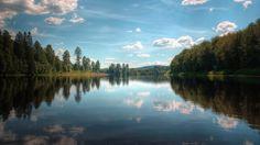 lake : image, wall, pic 1920x1080