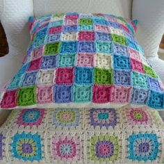 """""""The sweet and sour"""" Cushion <3...love the colors"""