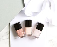 Loving these nude and pink shades from Chanel! My three favorites: Ballerina, Secret and Lovely beige
