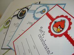 Angry Birds Birthday Invitation (1). $2.75, via Etsy.
