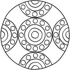 Mandalas zum Ausdrucken und Ausmalen 10 für Kinder