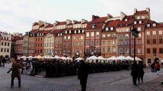 Varsovia, capital de Polonia.