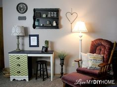 Master Bedroom Before & After {Love My DIY Home}