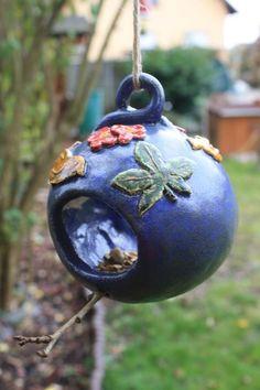Nistkästen U0026 Vogelhäuser   Vogelfutterhaus Keramik   Ein Designerstück Von  Konform Art Bei DaWanda