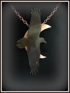crow necklace, raven necklace, raven jewelry, crow jewelry, raven pendant, crow pendant, goth raven, raven moon, raven totem, rook necklace by ImagesbyKentOlinger on Etsy https://www.etsy.com/ca/listing/495706735/crow-necklace-raven-necklace-raven