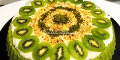 Süper Ispanaklı Tart Kek Kiwi, Food And Drink, Fruit, Cake, Kuchen, Torte, Cookies, Cheeseburger Paradise Pie