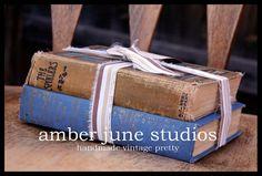 old book decor
