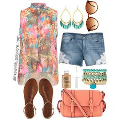 """Cool Girl Summer Outfits """"Summer Ready - Plus Size"""" by alexawebb on Polyvore... Check more at http://24store.ml/fashion/girl-summer-outfits-summer-ready-plus-size-by-alexawebb-on-polyvore/"""