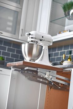 Rev-A-Shelf RAS-ML-HDSC Appliance Lift with Soft-Close Mechanism, Chrome: Home & Kitchen