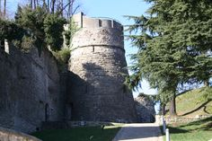 The Castello di San Vigilio, Bergamo