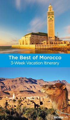 With this 3-week Morocco travel itinerary you can see everything from the imperial cities of Marrakech, Fez, Meknes, and Rabat to the calm oases of the Sahara desert. Plan an amazing Moroccan vacation with this travel guide. #morocco #travel
