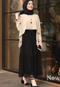 Combination Tricks Hijab Vintage For Women sãrãĦ Ḿỡhãmãd ( Hijab Style Dress, Modest Fashion Hijab, Modern Hijab Fashion, Muslim Women Fashion, Hijab Fashion Inspiration, Islamic Fashion, Mode Inspiration, Skirt Fashion, Fashion Outfits