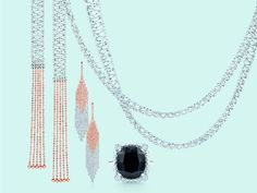 From Out of the Blue by Tiffany & Co. — Shimmy and swing in dynamic designs of rose gold...