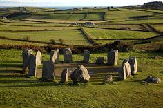 West Cork Photos at Frommer's - No one knows why ancient Celts constructed this ring of megaliths at Drombeg.