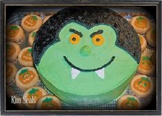 Fun vampire cake idea