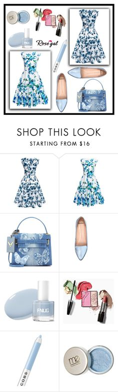 """rosegal contest"" by merisa-imsirovic ❤ liked on Polyvore featuring Valentino, Mollini and Marc Jacobs"