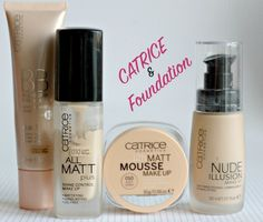CATRICE FOUNDATION: Catrice 12h Matt Mousse Make-up, All Matt Plus, Nude Illusion, BB  Lightest shade!