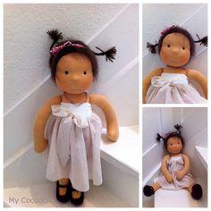 mycocodoll: beautiful Waldorf dolls...Site is in German, but Google Translate works wonders!