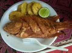 Mojarra frita. #honduras #food