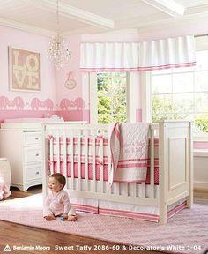 Modern-Beautiful-Nursery-Crib-Bedding-Design-For-Girl.jpg