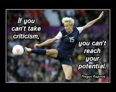 Soccer Poster Carli Lloyd Olympic Champion Photo Quote by ArleyArt
