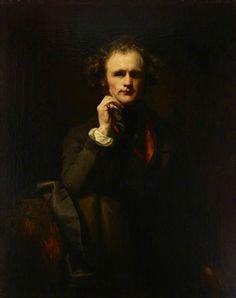 Self Portrait - Thomas Duncan - (British: 1807-1845)
