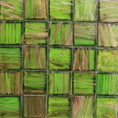 Garden TR R40 metallic glass mosaic tile