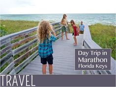 From beaches and nature to tiki hut lunch by the water, a full day of activity in Marathon Key (Florida Keys) #familytravel