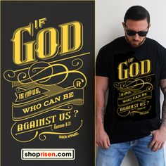 1837c6fe3fe100 Romans Risen Christian T-Shirt available in color black