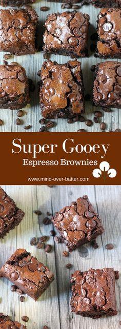 Gooey Espresso Brownies --- www.mind-over-batter.com