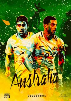 Australia : Socceroos! Soccer Cup, Soccer Party, Soccer Games, World Cup 2018 Teams, Fifa World Cup, Albert Camus, Mens World Cup, Fifa Teams, Australian Football