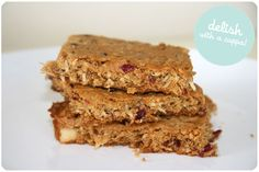 White Chocolate and Cranberry Anzac Biscuits by Made from Scratch | onetakekate.com