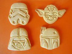 Postreadicción galletas decoradas, cupcakes y pops: Galletas de Star Wars
