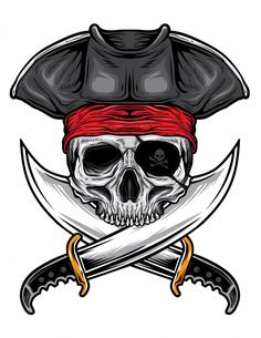 Skull Pirate, Pirate Art, Pirate Life, Lakes In Louisiana, Crane, Ink Pen Art, Mind Blowing Facts, Pastel Wallpaper, Skull Art