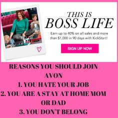 Reasons to join avon www.beautymakeupstore.com